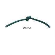 Cabo Revestido de Tecido Verde - 5 metros