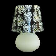 Capa Caveira para luminária Cogumelo