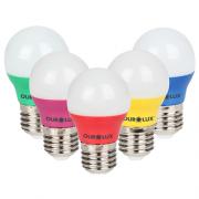 Lâmpada LED Bolinha Colorida 5W