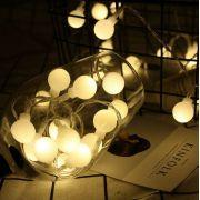 Cordão de Luz bolinha LED