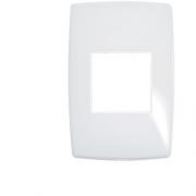 Placa Pial Branca 4x2 / 2 Postos Adjacentes