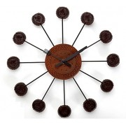 Relógio Chocolate com Biscoito Maizena