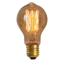 Lâmpada de Filamento Carbono A19