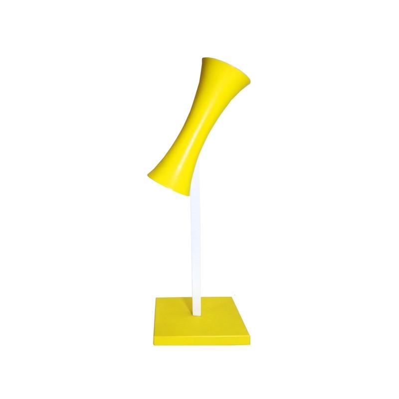 Abajur para GU10 Amarelo - MM Iluminação