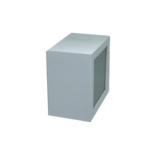 Arandela Cubo Alumínio Frente - Alloy
