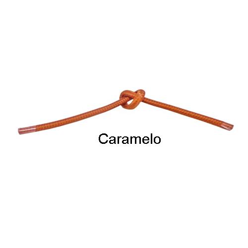 Cabo Revestido de Tecido Caramelo 10 metros - Tona Brasil