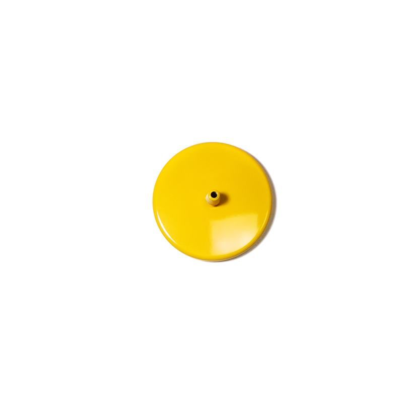 Canopla 1 furo - Amarelo