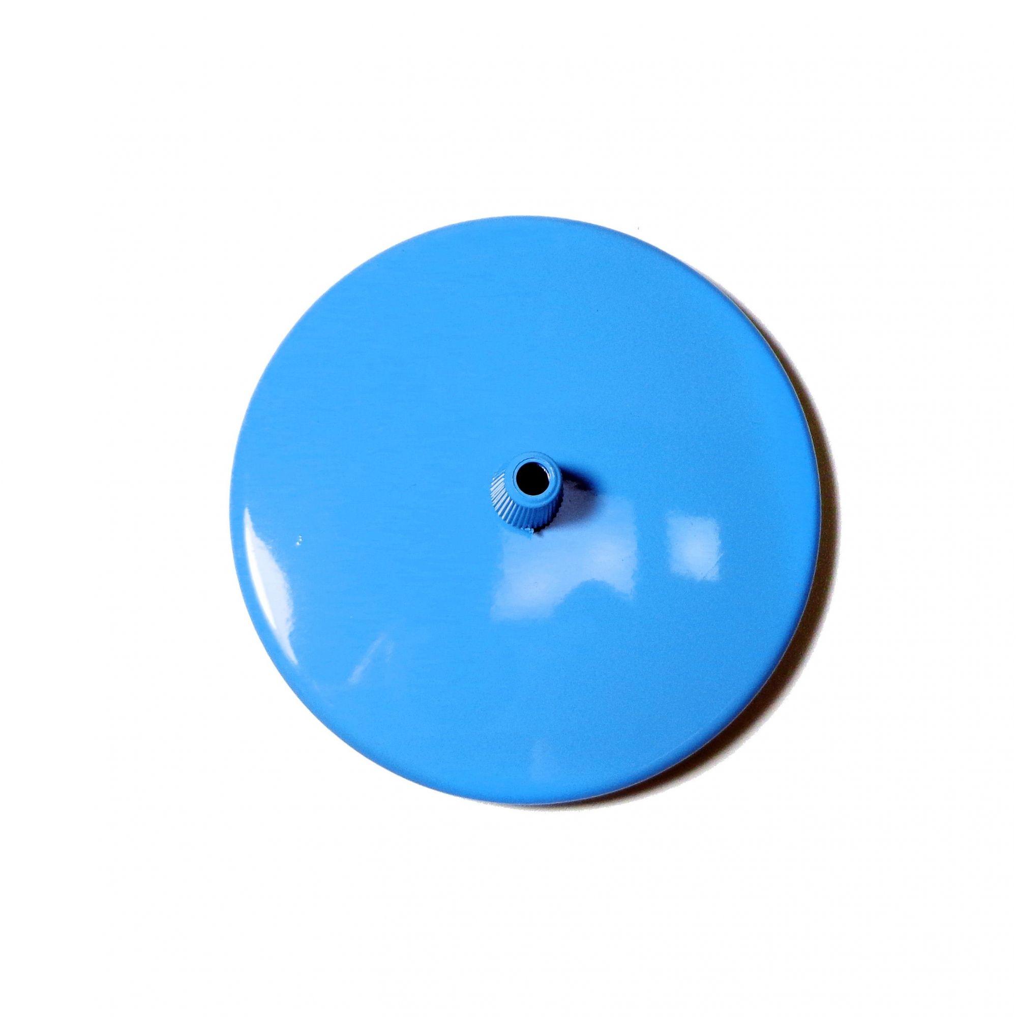Canopla 1 furo - Azul Bebê