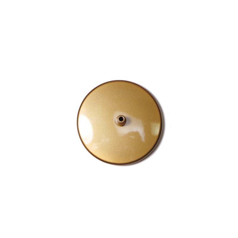 Canopla 1 furo - Dourado