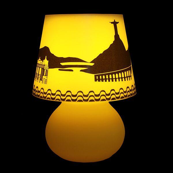 Capa Rio para luminária Cogumelo