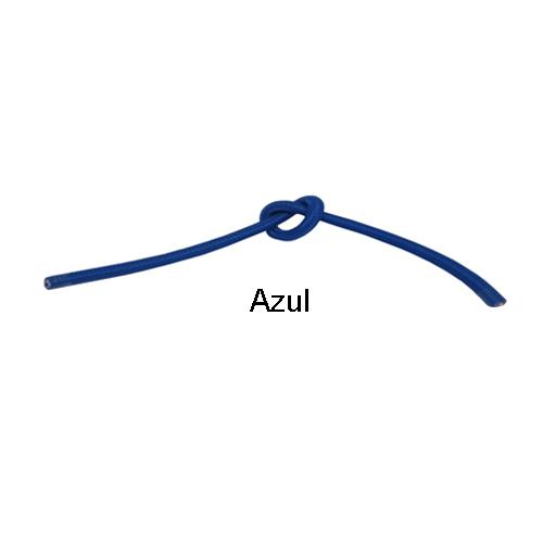 Cabo PP Revestido de Tecido Azul - 3 metros