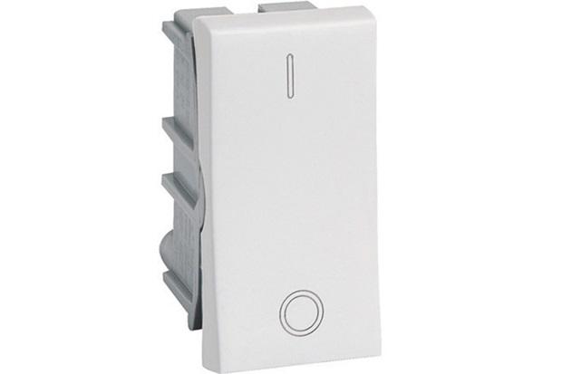 Interruptor Bipolar Pial Simples 1 Modulo / 10A / 250V