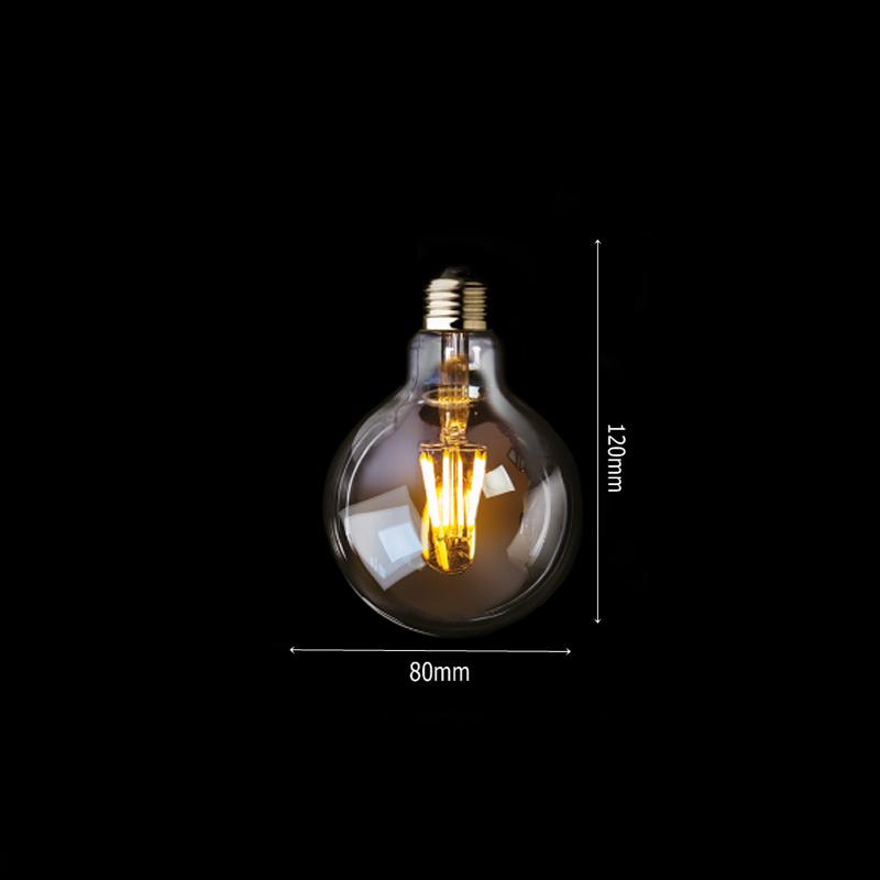 Lâmpada de Filamento LED G80 - Luminatti