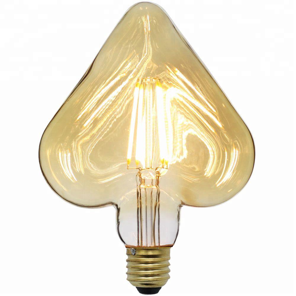 Lâmpada de filamento LED Heart