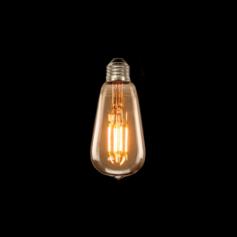 Lâmpada de Filamento ST64 LED - Luminatti