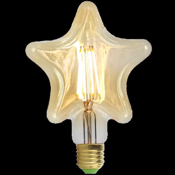 Lâmpada de filamento Star LED