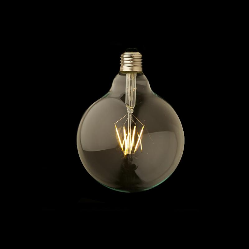 Lâmpada de Filameto G125 LED - Luminatti
