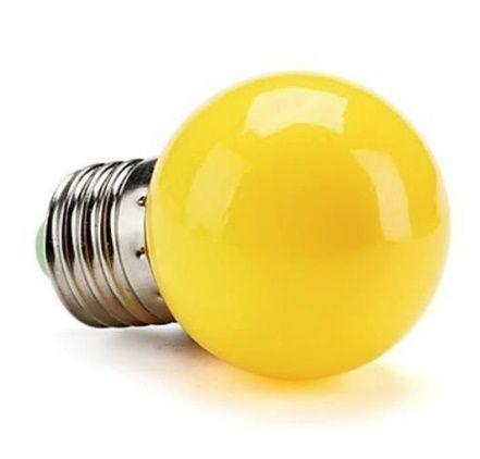 Lâmpada Bolinha Colorida LED 1W E-27