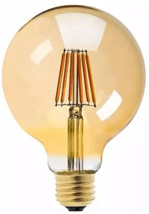 Lâmpada de Filamento LED G95