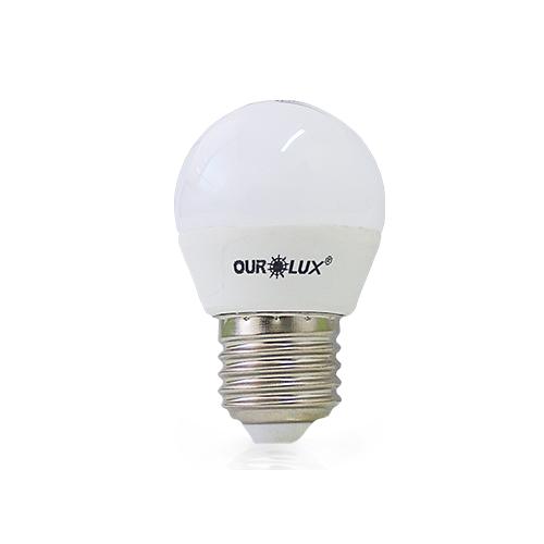 Lâmpada LED Bolinha 4W  - Ourolux