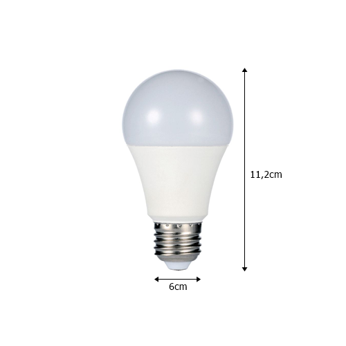 Lâmpada Led Bulbo 7W - BRILIA