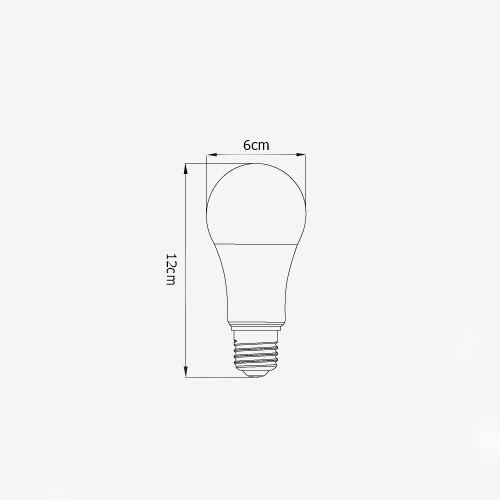 Lâmpada Led Bulbo Dimerizável 10W - Luminatti