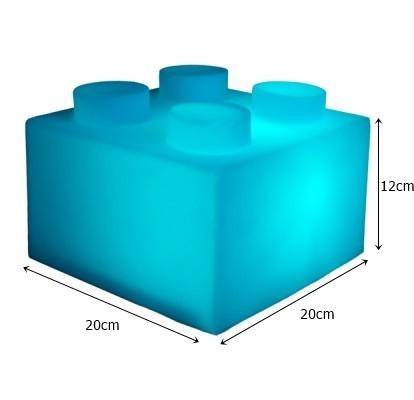 Luminária Bloco Azul - Usare