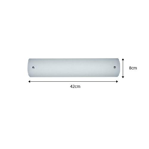 Luminária Camarim p/ 2 lampadas - Fortlux