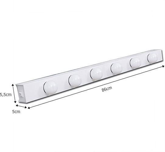 Luminária Camarim para 6 Lâmpadas