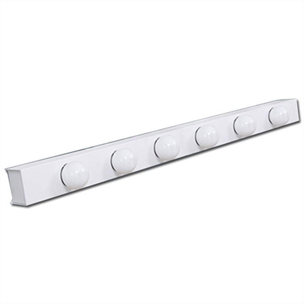 Luminária Camarim para 6 Lâmpadas  (sem interruptor na lateral)