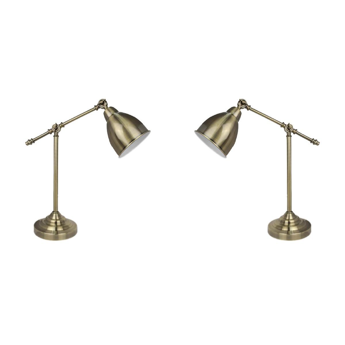 Luminária de Mesa Latão - Premier