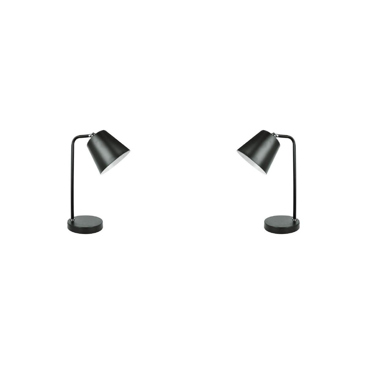 Luminária de Mesa Melody Preta - Premier