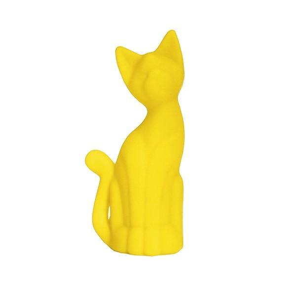Luminária Gato Magrelo Amarelo - Usare