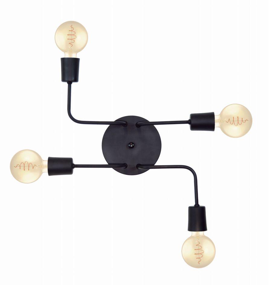 Luminária Hashtag para 4 lâmpadas