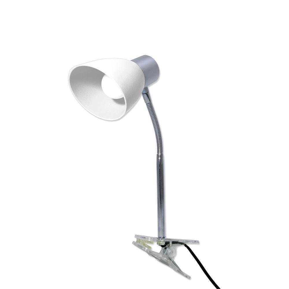 Luminária LED c/ Garra 2,5w E-14 Gelo - Starlux