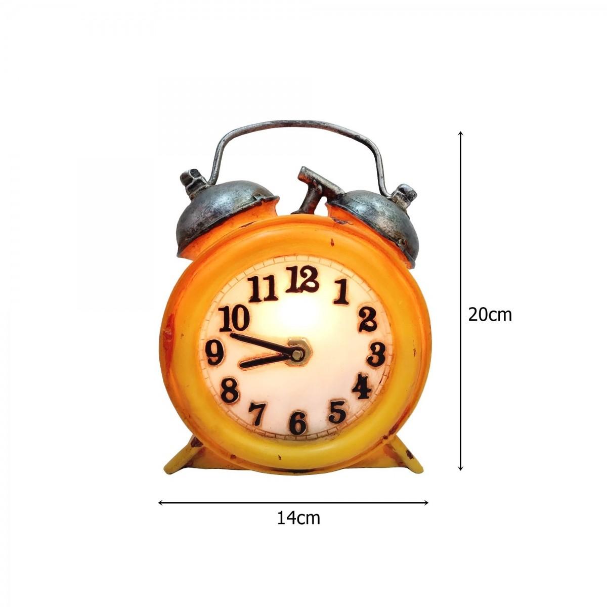 Luminária Resina Relógio Clock - AZ DESIGN