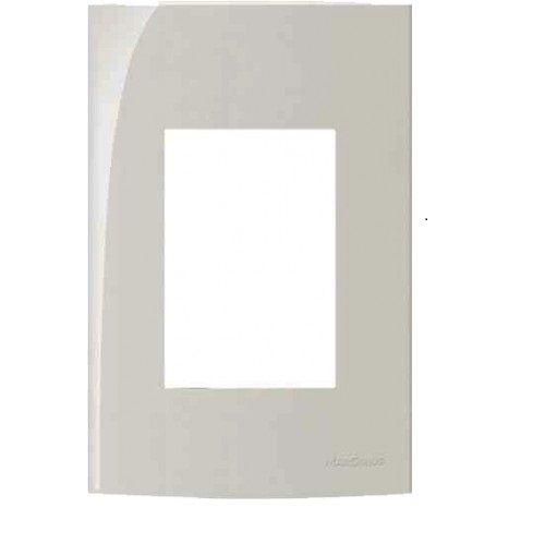Placa Branca Pial 4X2 3 Postos Adjacentes