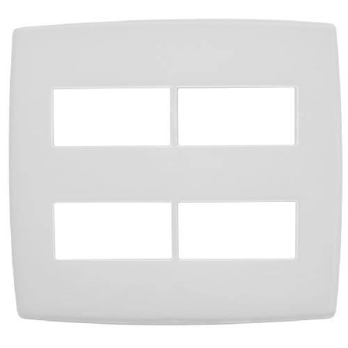 Placa Branca Pial 4x4