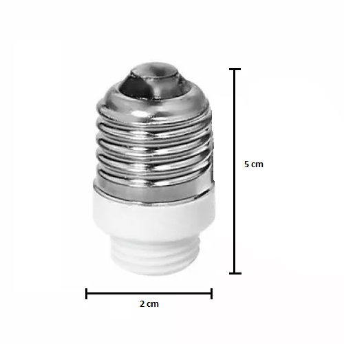 Soquete Adaptador E27 para G9 - Tona Brasil