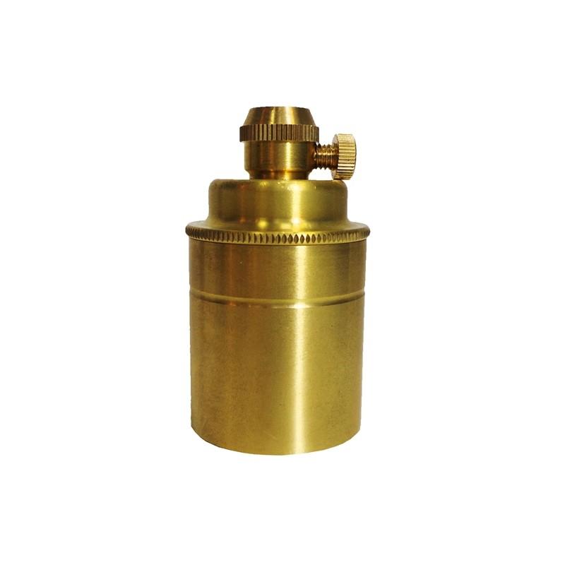 Soquete Decorativo Dourado  - Tona Brasil