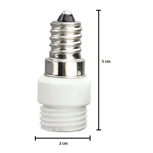 Soquete Adaptador E14 para G9 - Tona Brasil