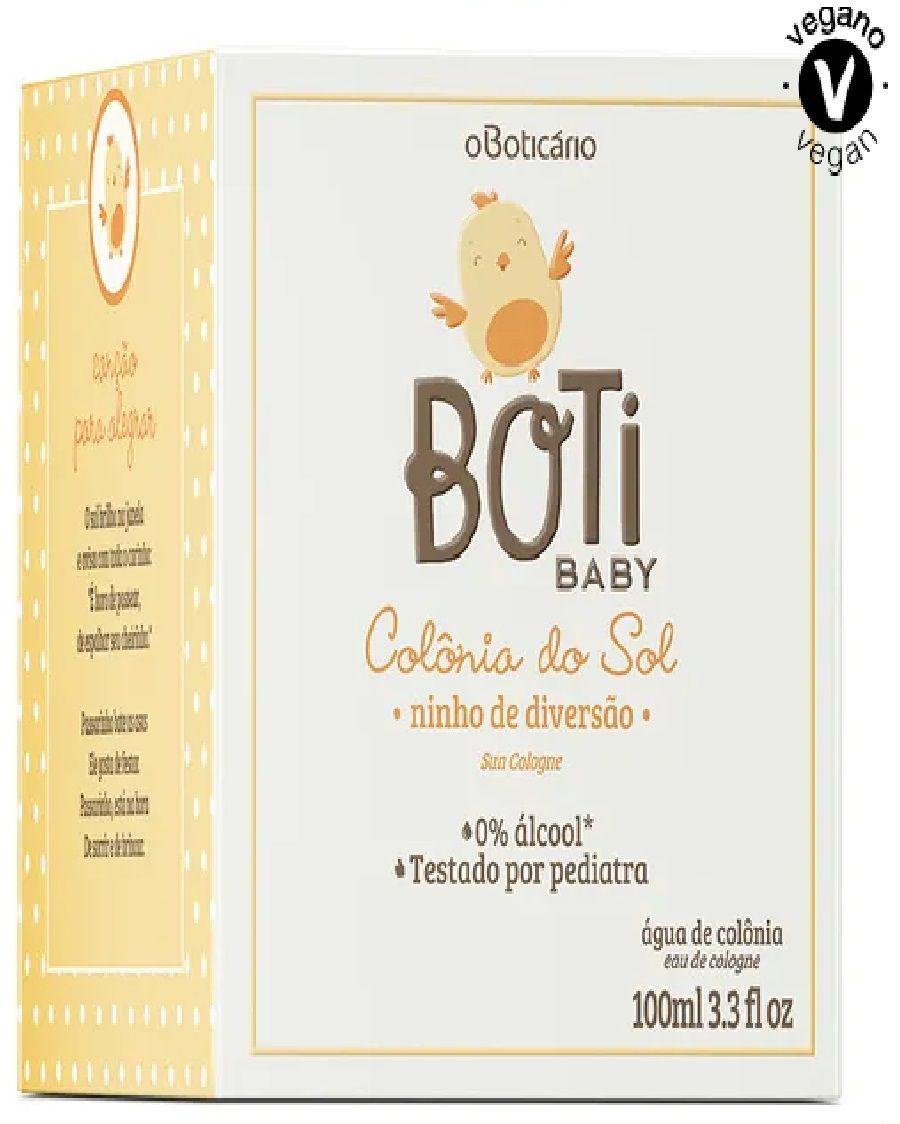 BOTI BABY COLÔNIA INFANTIL O BOTICÁRIO