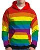 MOLETOM ESTAMPADO VERMELHO LGBT 7b