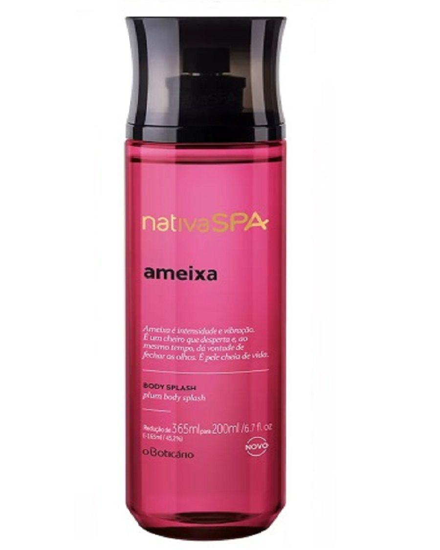 NATIVA SPA DESODORANTE COLÔNIA BODY SPLASH O BOTICÁRIO