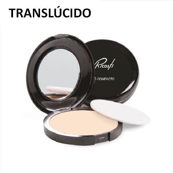 PÓ COMPACTO COM ESPELHO RICOSTI
