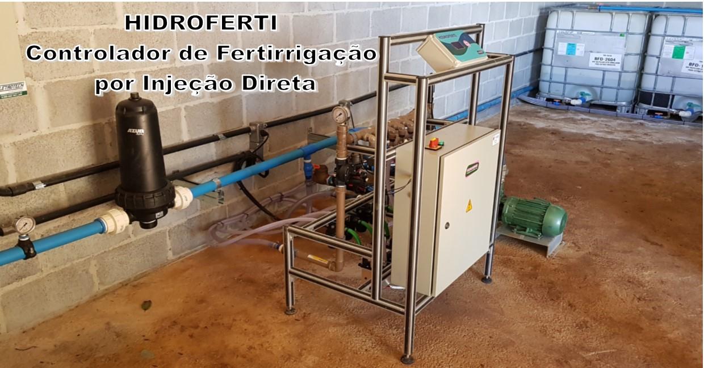 Hidroferti- Controlador de Fertirrigação