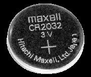 Bateria Botão 3V lithium CR2032 Cartela com 05pçs