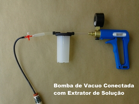 Bomba de Vácuo Manual Para Extrator