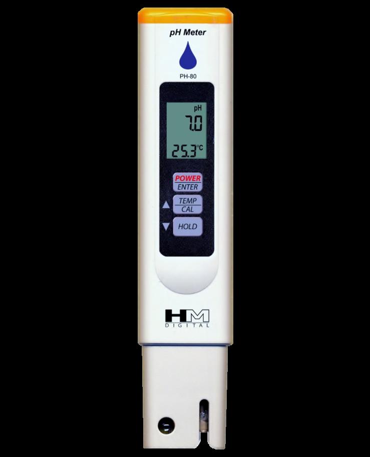 Medidor de PH Digital Portátil Modelo PH-80