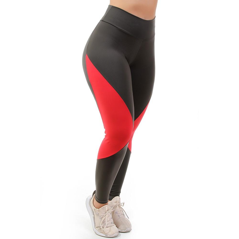Calça Legging Go Fit Rio Recote Lateral